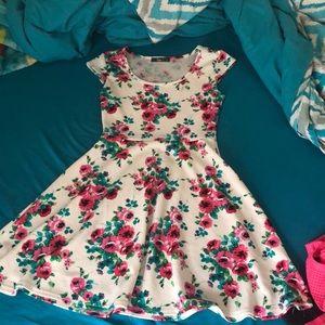 A skater dress